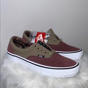 NWT VANS • ERA Pro Camo Rose Taupe Ultracush Shoes